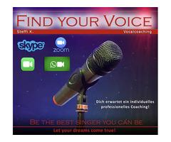 Vocalcoaching - Stimmtraining für Anfänger und Fortgeschrittene