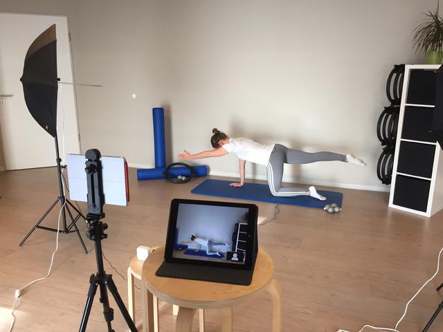 Studie: Pilates als Online-Kurs