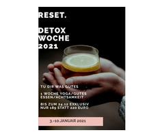 Online geleitete Yoga & Ernährungswoche - dein gesunder Kickstart ins neue Jahr