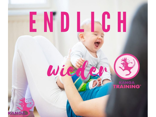 KANGA-Training Mama-Baby Workout ONLINE - STAY AT HOME - und werde fit!